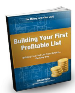 building your first list
