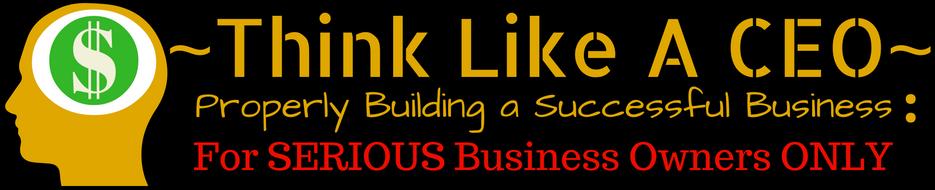 Think Like A CEO - header