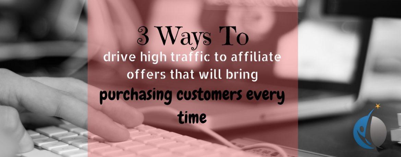 affiliate marketing advertising methods