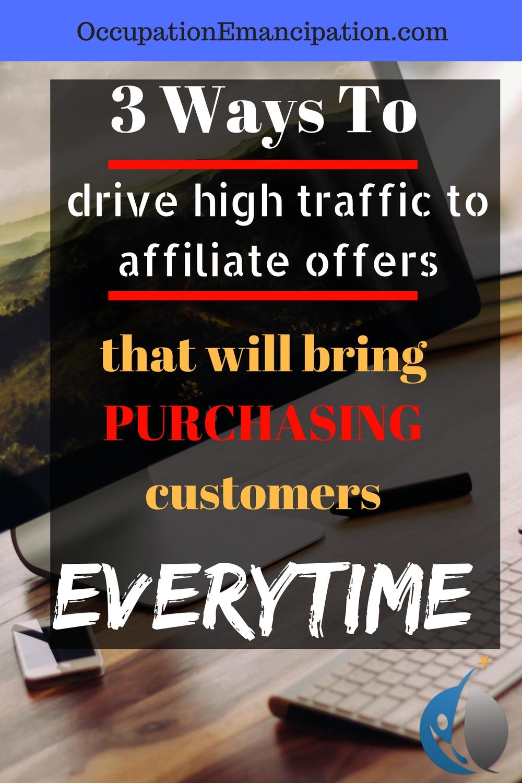 3 ways to get cash buying affiliates