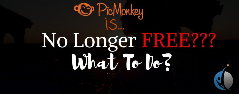 Picmonkey no longer